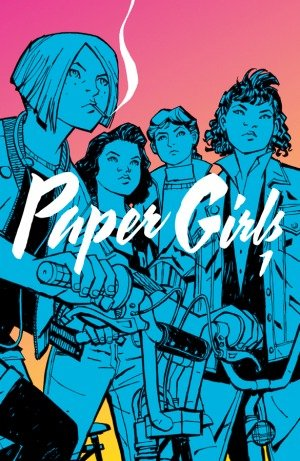 Paper Girls - Volume 1 Book Cover