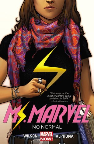Ms. Marvel - No normal Book Cover
