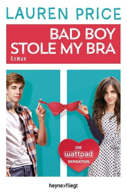 Bad Boy Stole My Bra Book Cover