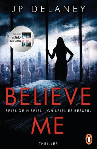 Believe me Book Cover